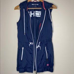 Tommy Hilfiger Sport Hooded Windbreaker Vest